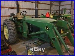 John Deere 3020 Diesel Row Crop Tractor Unrestored 4044 Hours