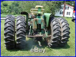 John Deere 3020 Diesel Tractor 3559 Original Hours Factory PFWA, Duals, RARE