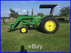 John Deere 3020 Diesel Tractor With Loader