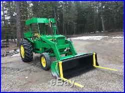 John Deere 3020 Diesel With Loader in great shape. Recent Restore