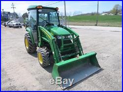 John Deere 3320 Compact Tractor WithJD 300CX Loader, 226 Hrs! , Cab, AC/Heat, 4x4