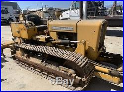 John Deere 350 Tractor Vintage Dozer Runs! Crawler Type t4f3d