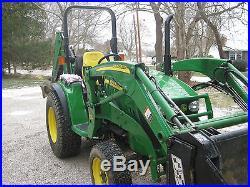 John Deere 3720 4wd tractor