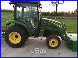 John Deere 3720 tractor 2008 Only 406 Hours