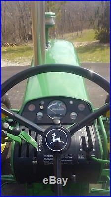 John Deere 4020 Diesel Powershift Elwood MFWD M&W Turbo