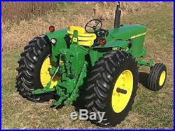 John Deere 4020 Row Crop Tractor