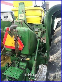 John Deere 4020 diesel farm tractor dual hydraulic 3pt centerlink straight nice