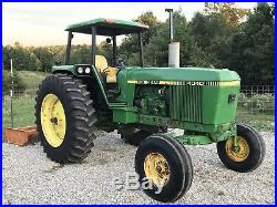 John Deere 4040 Farm Tractor. Factory 4post Canopy. Creeper Gear! Nice Tractor
