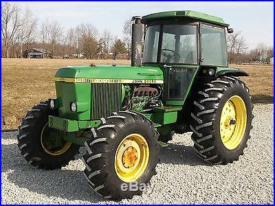 John Deere 4040 Tractor & Cab Diesel 4x4