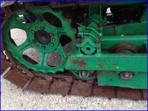 John Deere 40 Crawler