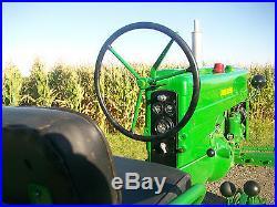 John Deere 40 H HI CROP Antique Tractor NO RESERVE Runs Great farmall oliver