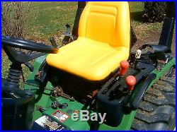 John Deere 4100 4WD Compact Diesel Tractor with Front end loader only 305 hours