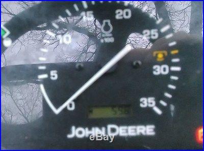 John Deere 4105 w/ Mower. 59.6 HRS total time. NO RESERVE. BID TO WIN