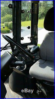 John Deere 410g 4x4, Power Shift, Extend A Hoe, Enclosed Cab, Nice