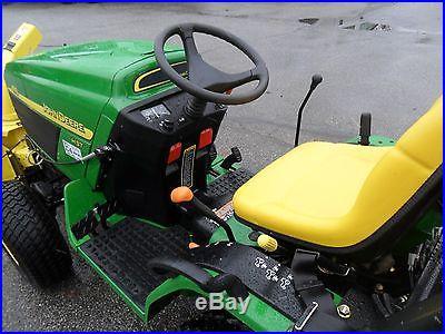 John Deere 4110 4wd Diesel Tractor Snow Blower, Mower & Power Pack MCS, 55 HOURS