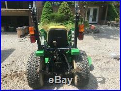 John Deere 4115 Compact Diesel Tractor