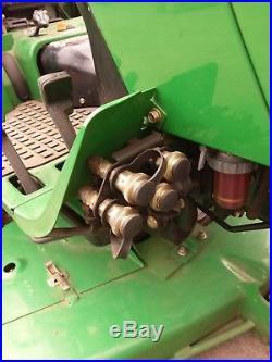 John Deere 4115 Compact Tractor With Mower Deck