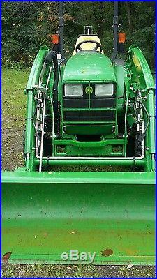 John Deere 4210 Tractor Loader Diesel 4x4 Hydrostatic