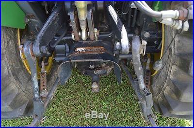 John Deere 4310 4wd eHydro Diesel 31hp Compact Tractor Loader and 72 Mid Mower