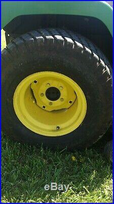 John Deere 445 Tractor 22 HP Liquid Cooled Power Steering 54 Inch Deck