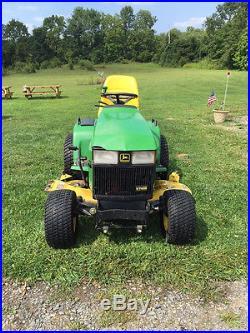 John Deere 445 tractor mower
