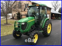 John Deere 4720 Diesel Tractor, Factory Cab, 58 HP, 4x4, Hydro, Loader Valve
