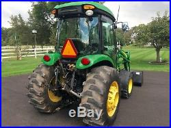 John Deere 4720 Diesel Tractor, Factory Cab, 58 HP, 4x4, Hydro, R4 Tires, Loader