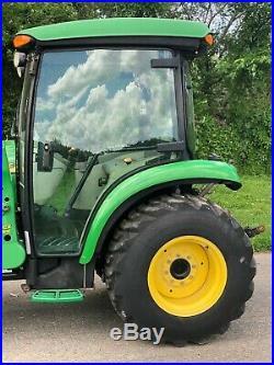 John Deere 4x4 3320 Loader Tractor 4x4 Diesel Hydrostatic Cab