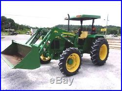 John Deere 5203 Tractor with JD 553 Loader 4x4