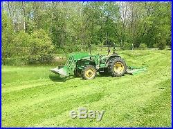John Deere 5210 Tractor MWFD