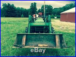 John Deere 5300 Tractor with 540 loader