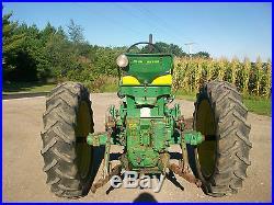 John Deere 530 Antique Tractor NO RESERVE Three Point Hitch 630 730 A B Farmall