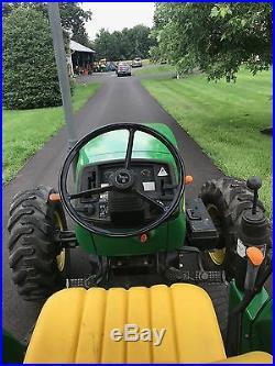 John Deere 5320 Diesel Tractor, 04 Model, 26 Hrs, 4x4, Hyd Reverser Trans, Nice