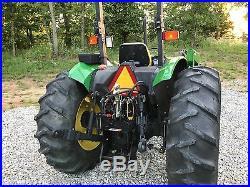 John Deere 5410 4WD Tractor + Loader 2001 withlow hours very nice