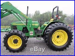 John Deere 5420 Diesel Farm Tractor 4X4 WithROPS & Loader