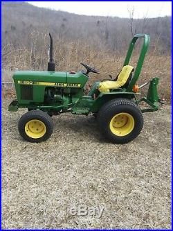 John Deere 650 tractor