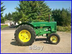 John Deere 70 Diesel Standard Antique Tractor NO RESERVE Loaded farmall oliver b