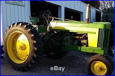 John Deere 720 Diesel Electric Start Tractor