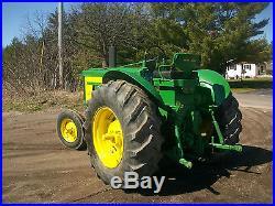 John Deere 720 Standard Diesel Antique Tractor 3 PT Hitch NO RESERVE A B oliver