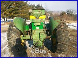 John Deere 720 Standard Diesel Antique Tractor NO RESERVE a b g h d m r farmall