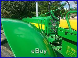 John Deere 720 Standard Diesel Antique Tractor NO RESERVE farmall allis oliver a