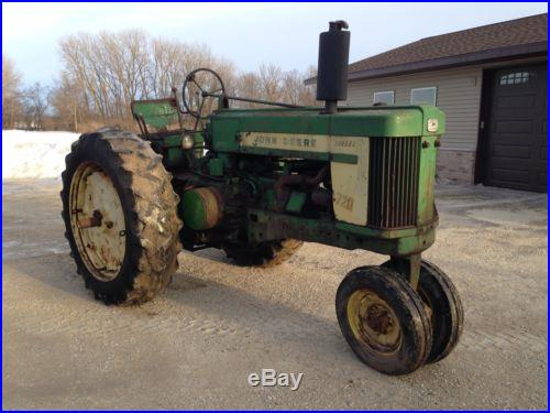 John Deere 720 diesel Row Crop