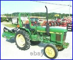 John Deere 750 2wd Package Deal 751 Hrs FREE 1000 MILE DELIVERY FROM KY