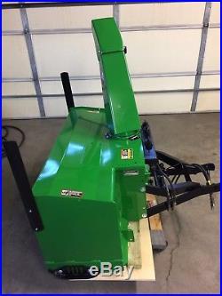 John Deere 755 4x4 Tractor With heavy duty 47 Snowblower