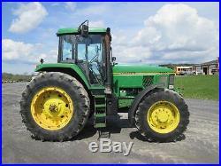 John Deere 7600 Farm Tractor