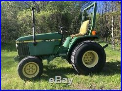 John Deere 770 24HP 3 Cylinder Diesel Compact Tractor