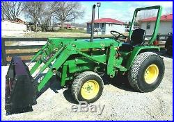 John Deere 770 4X4 & Loader- FREE 1000 MILE DELIVERY FROM KY