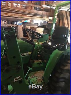 John Deere 790, 30hp diesel, compact tractor
