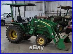 John Deere 790 Diesel 4x4 Loader Tractor 4WD ie- 770 670 870 1070 970