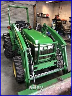 John Deere 790 Tractor 4x4